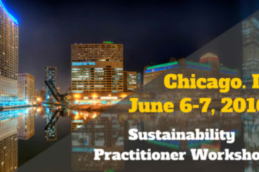 Advanced Sustainability Workshop by DePaul University (CPE) in collaboration with CSE