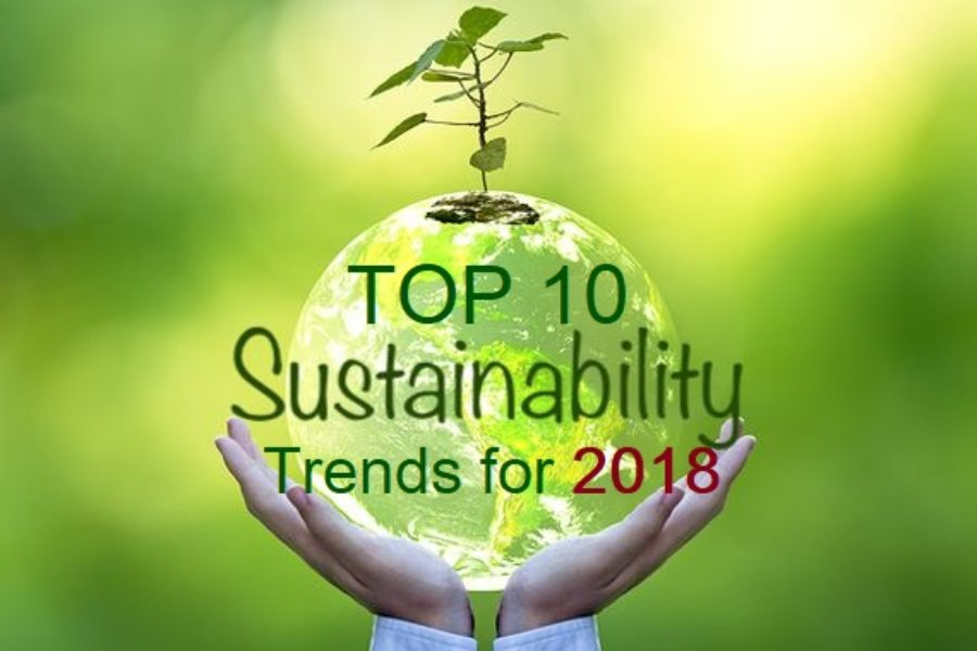 Top 10 Sustainability Trends for 2018
