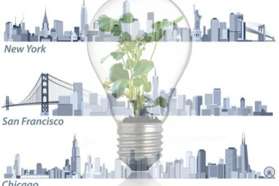 Big Apple, Windy City and Golden Gate City Rivaling for Sustainability Firsts!