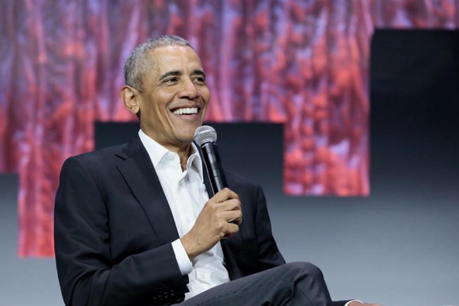 Barack Obama addresses sustainability importance at Atlanta Green build Expo