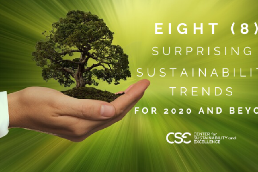 The Hottest Trends on Corporate Sustainability for 2020 and Beyond