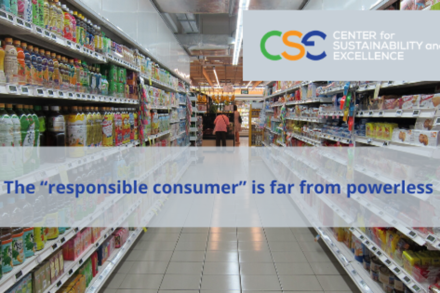 The Responsible Consumer is becoming King