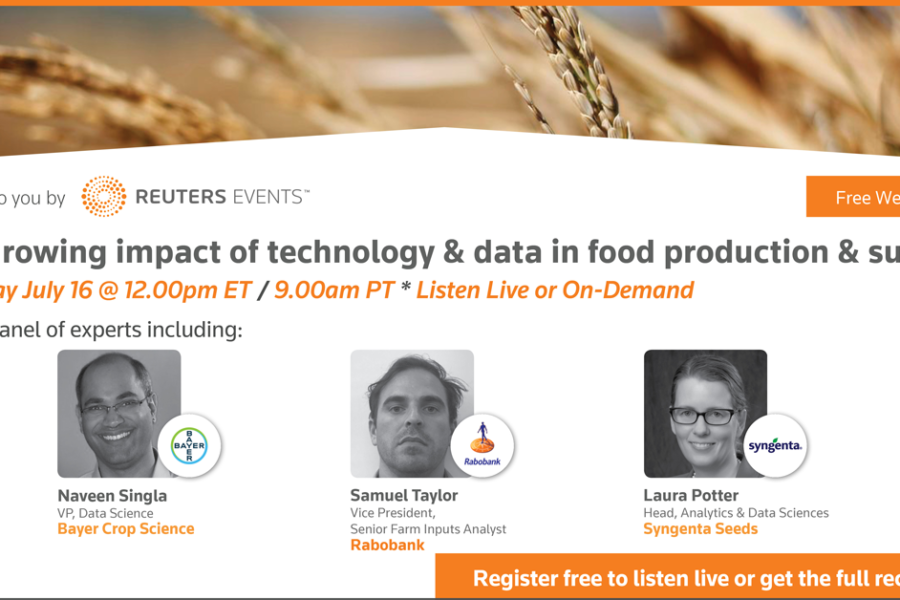 Exploring the growing impact of technology and data on agriculture and food