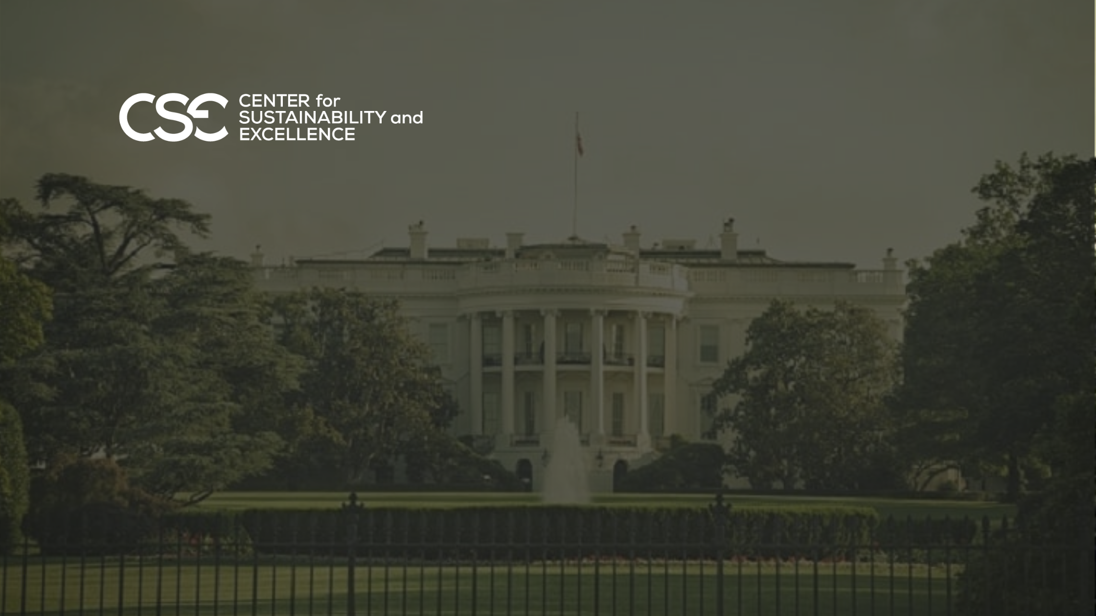 ESG – Two Steps Back with current administration; Three Steps Forward with Biden