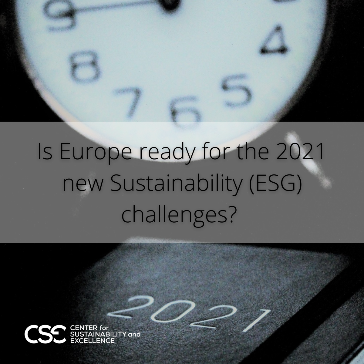 Is Europe ready for the 2021 new Sustainability (ESG) challenges?