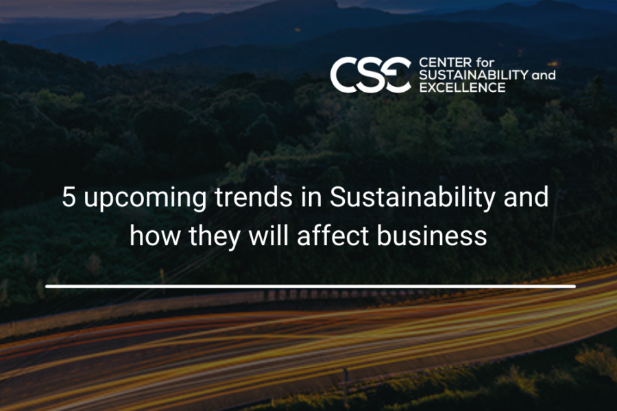5 upcoming Sustainability trends that business leaders should be aware of