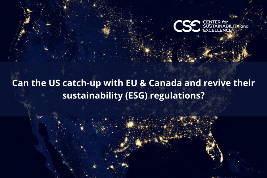 Can the US catch-up with EU & Canada and revive their sustainability (ESG) regulations?