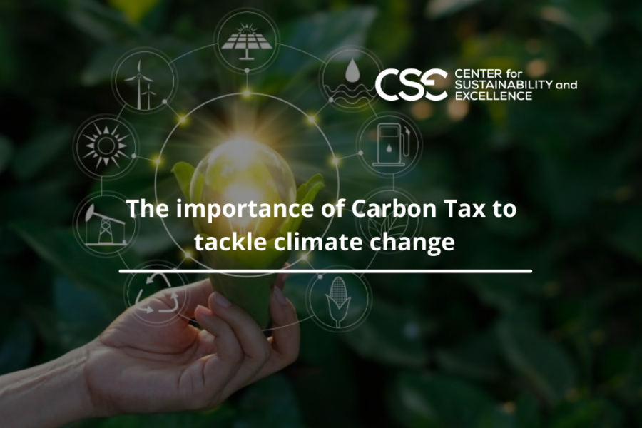 The importance of Carbon Tax to tackle climate change