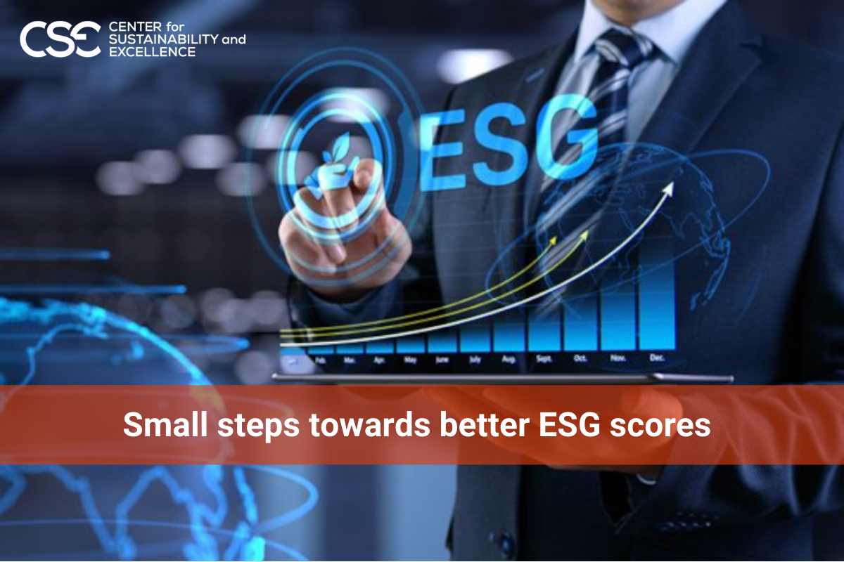 Small steps towards better ESG Scores