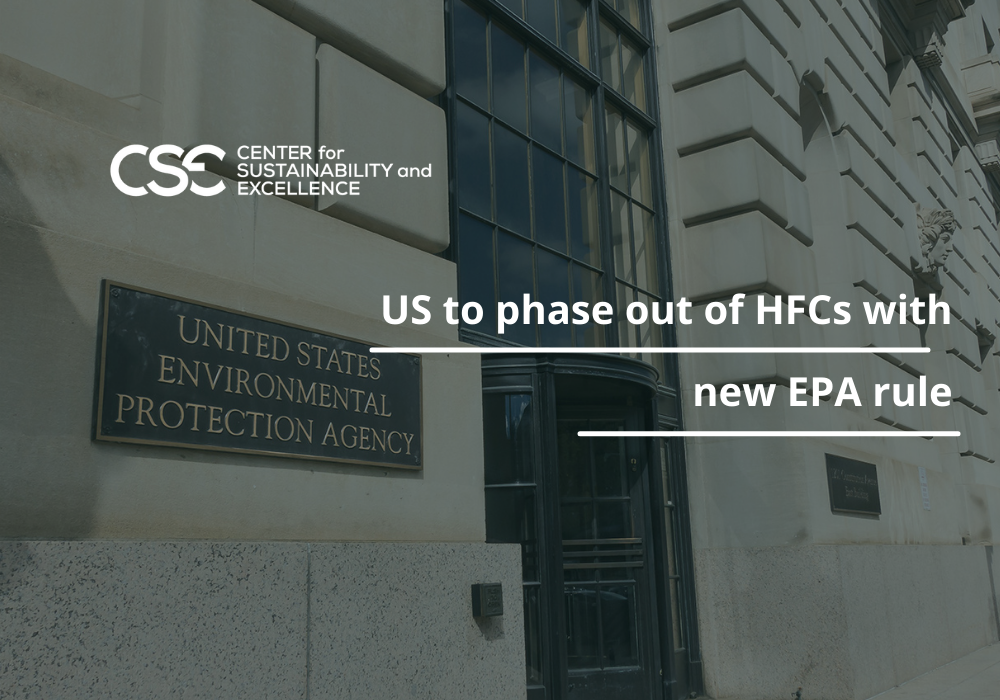 US to phase out of HFCs with new EPA rule