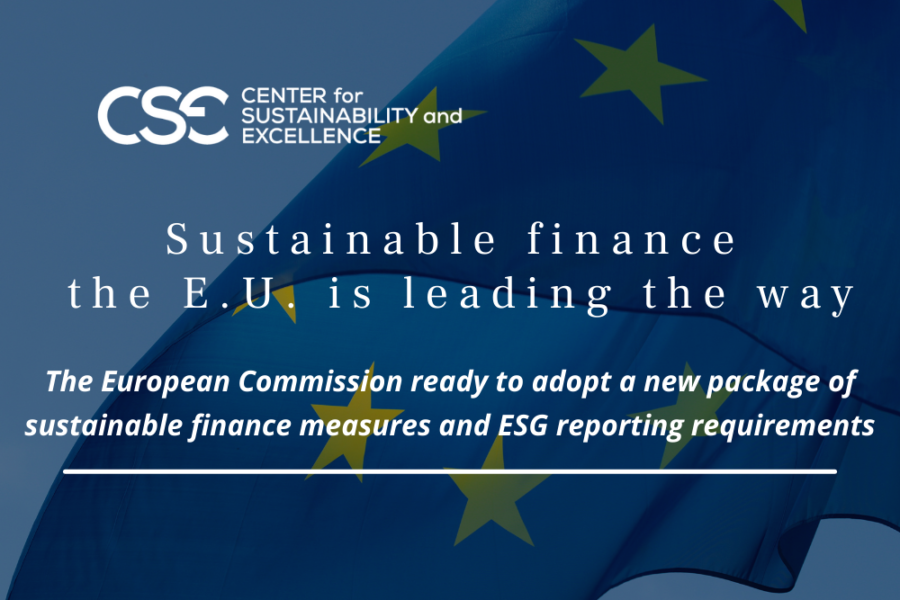 EU claims global leadership in Non-Financial Reporting with the new NFRD