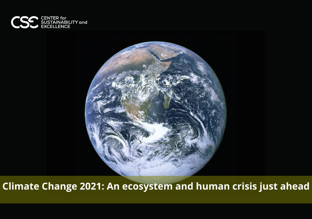 Climate Change 2021: An ecosystem and human crisis just ahead