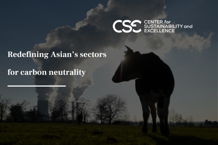 Redefining Asian's sectors for carbon neutrality