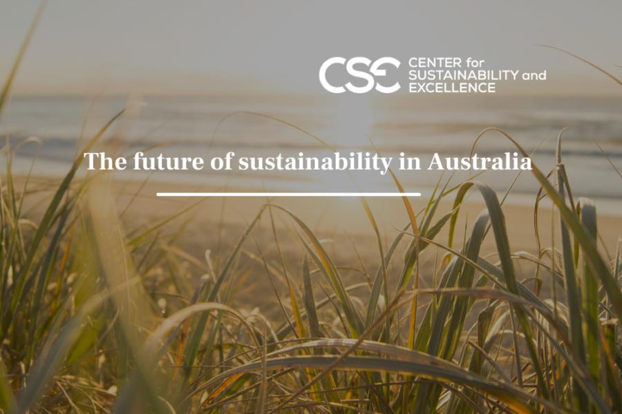 The future of sustainability in Australia