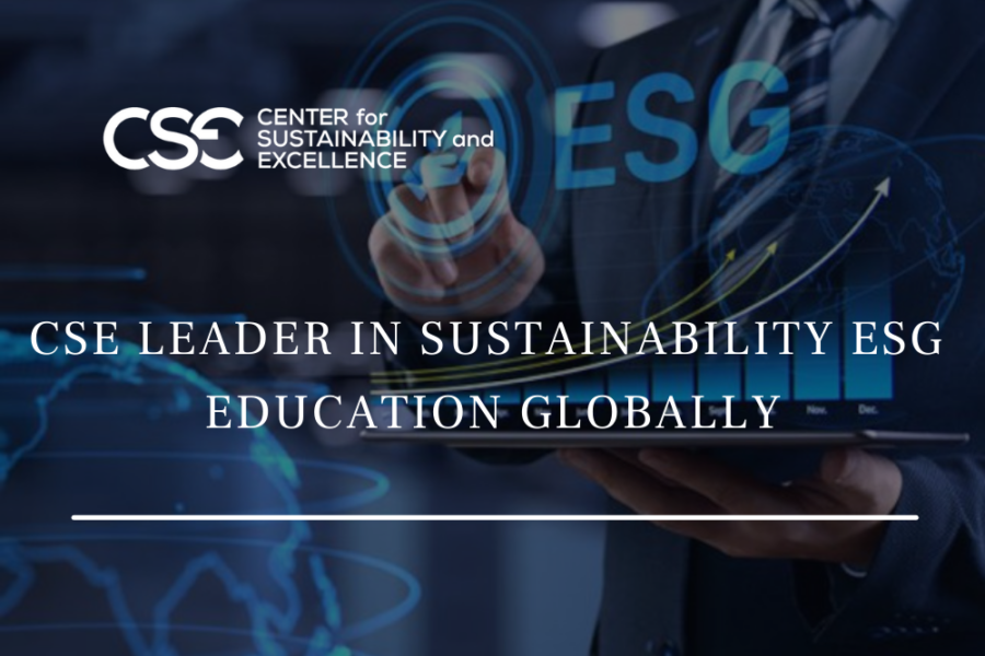 CSE's Sustainability Practitioner Program Celebrates 15 Years of Trust by Fortune 500 & Government Leaders