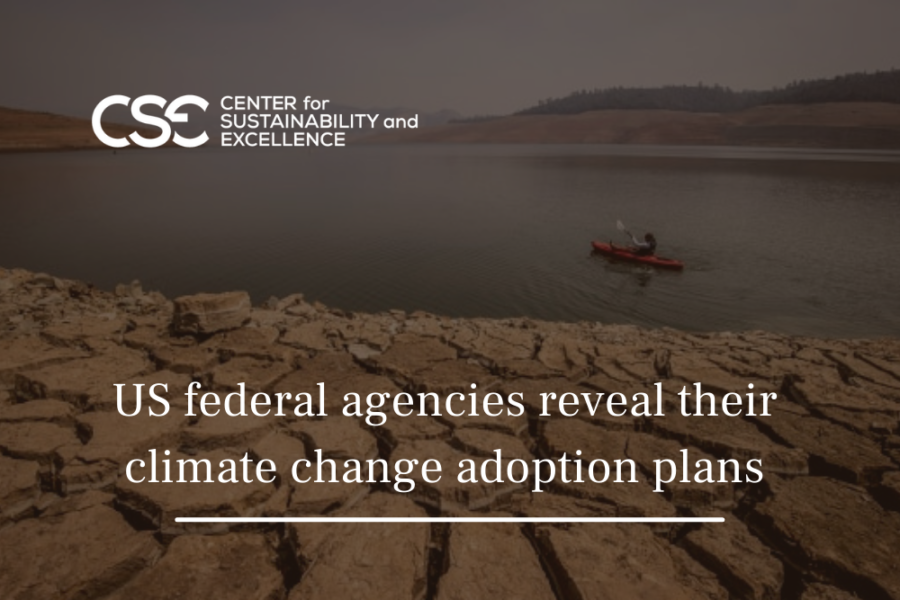 US federal agencies reveal their climate change adoption plans